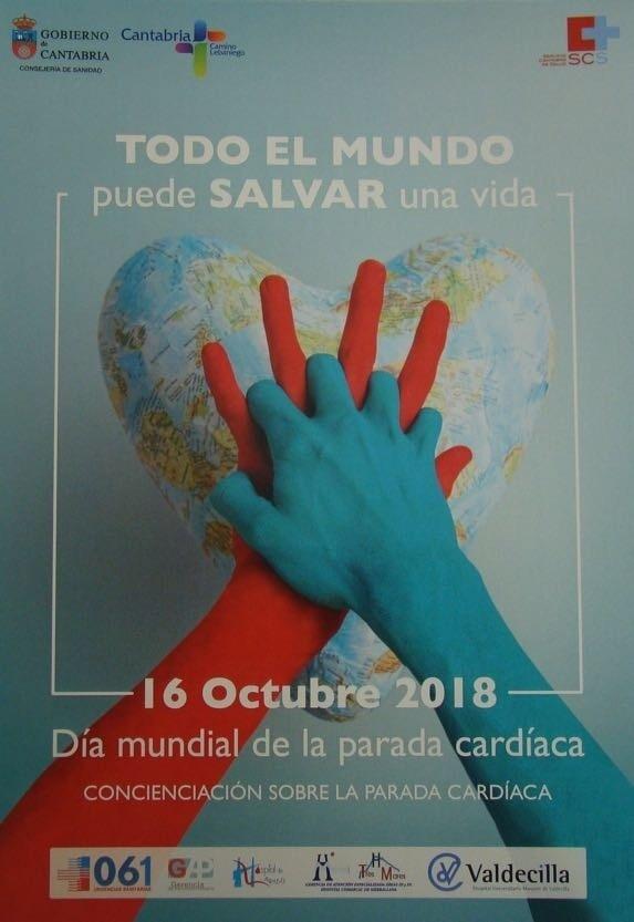 Scs Celebra El 16 De Octubre El Dia Mundial De La Concienciacion Del Paro Cardiaco